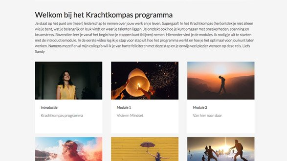 Loopbaancoachingstraject - online coaching